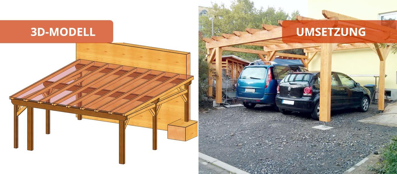 Carports Holzbausätze Individuell Und Zum Selber Aufbauen